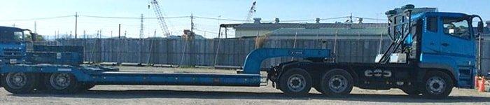 トレーラーヘッド2軸 荷台 8輪