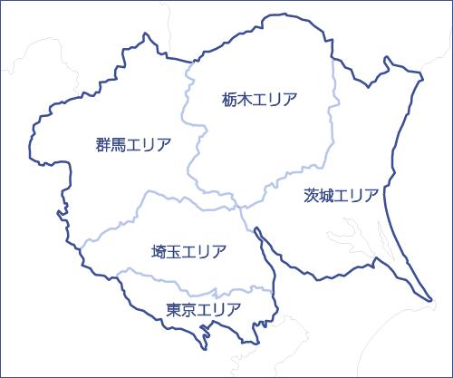 初谷建設エリアマップ